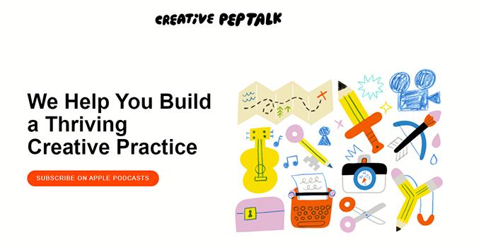 Creative Pep Talk Podcast