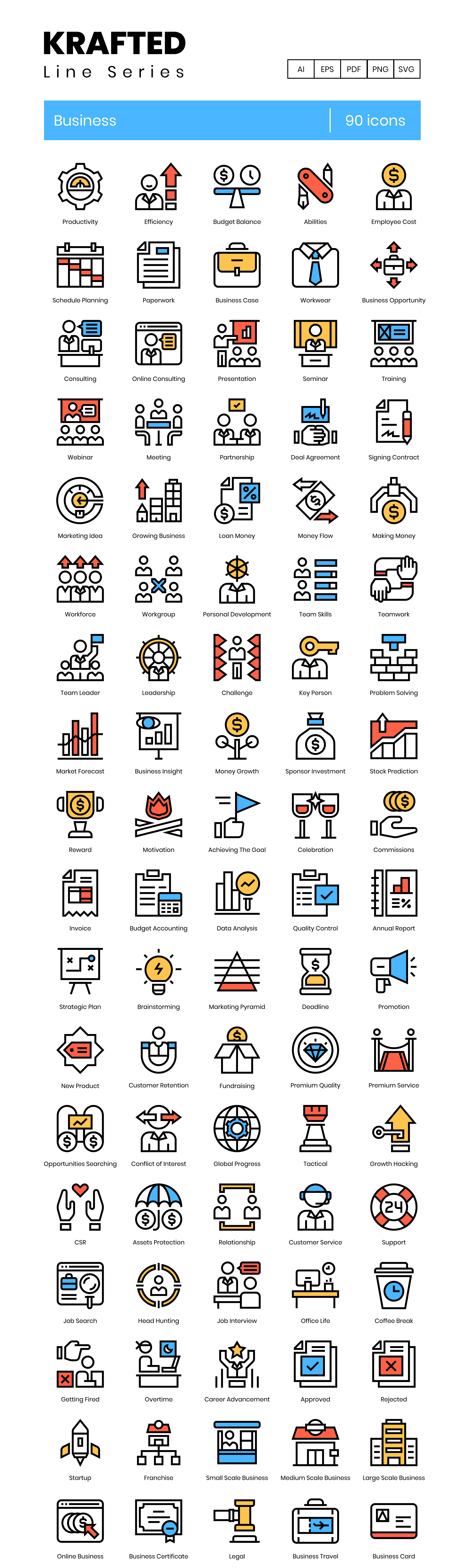 Preview Image for Company Icon Set