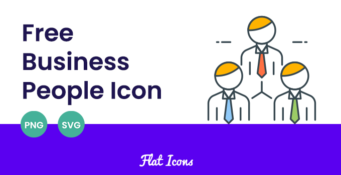 free business people icon