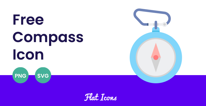 free compass icon svg and png