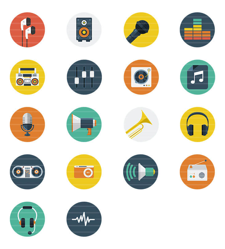 Audio / Music Icons