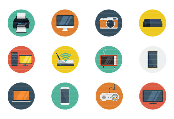 Device Flat Icons