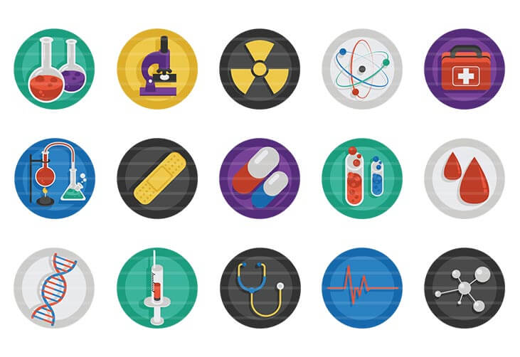 Science & Health Icons