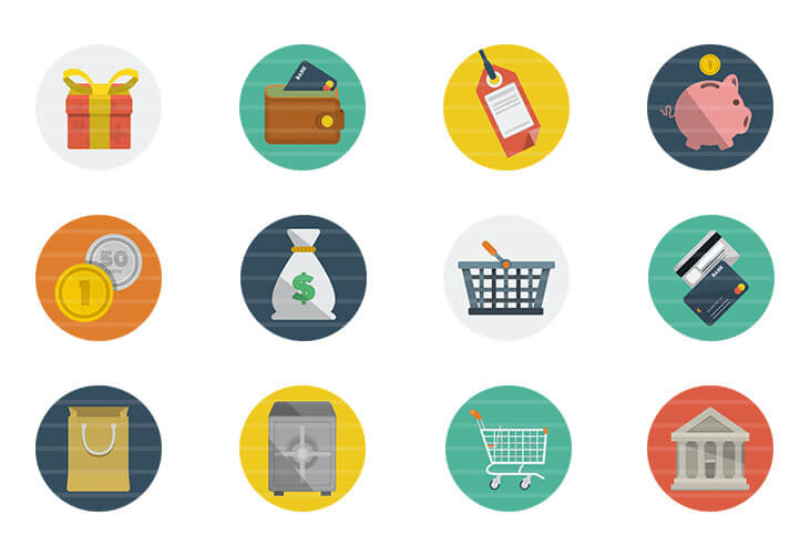 Shopping / Money Icons