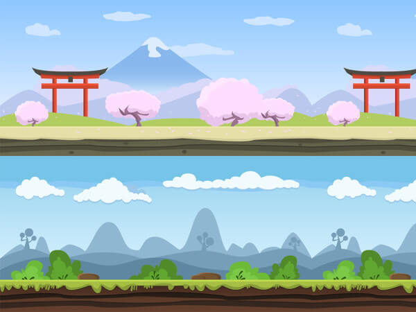 10 Tileable Game Backgrounds