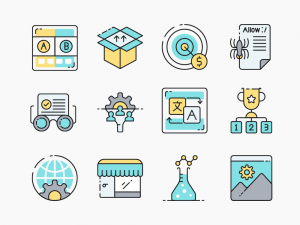 100 SEO Icon Set