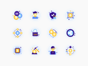 Crypto & Bitcoin Icons