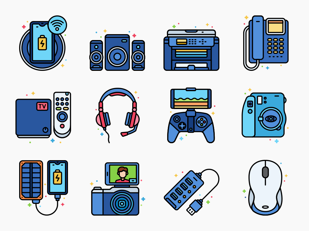 Devices Icons Featured
