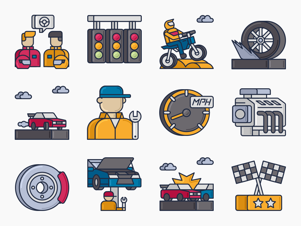 Racing Icons Featured