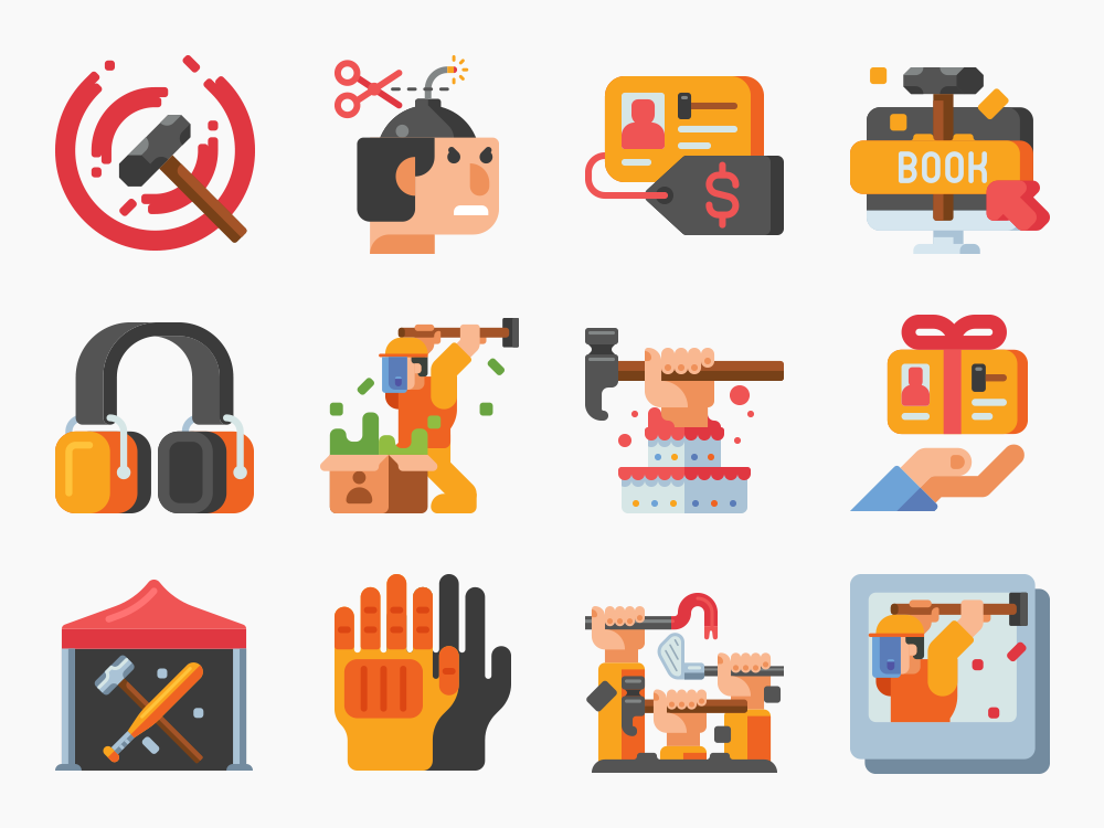 Rage Room Icons Featured