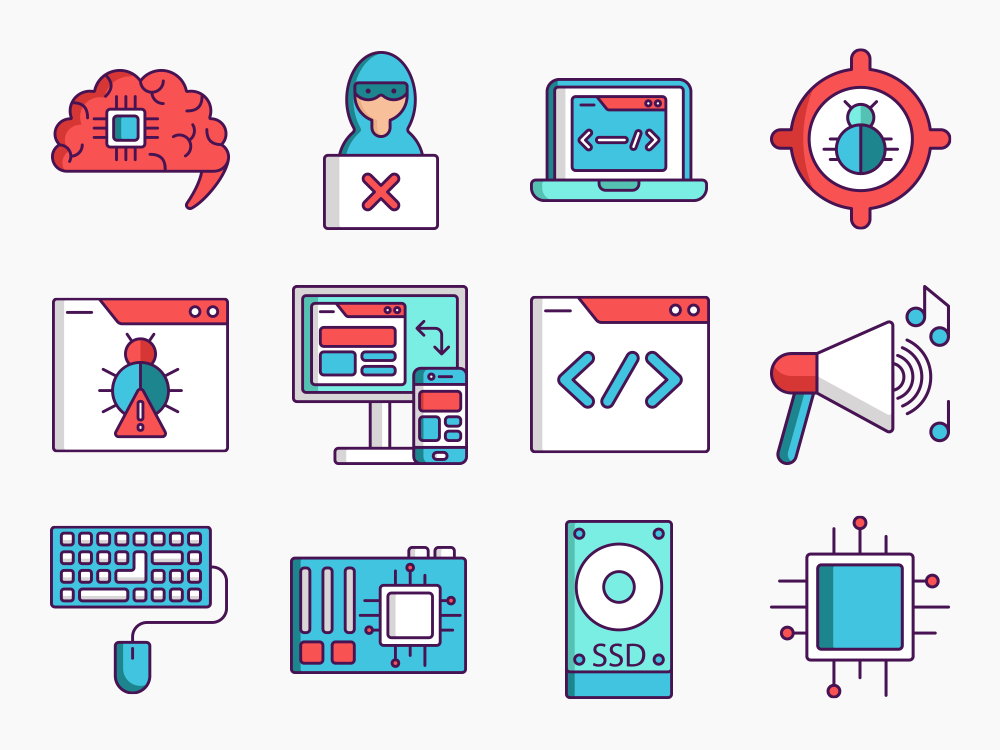 computer science icons