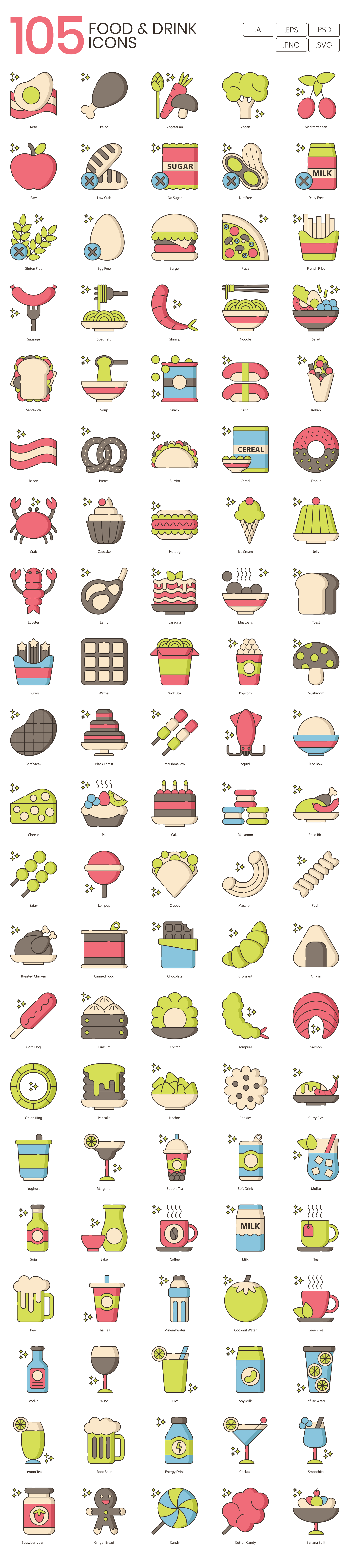 Food-Drink-Vector-Icons
