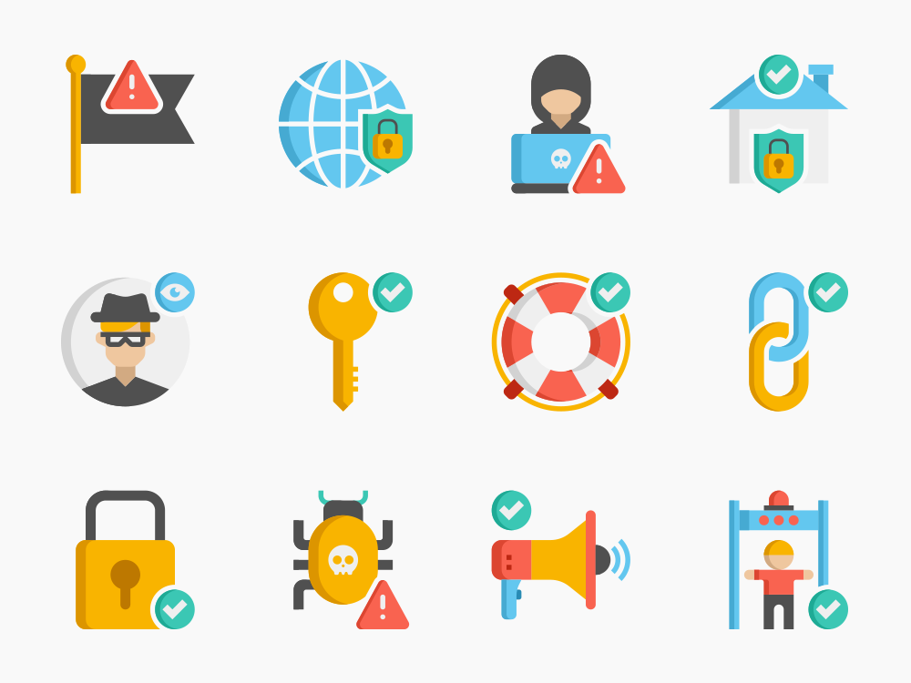 60 Security Icon Set 3