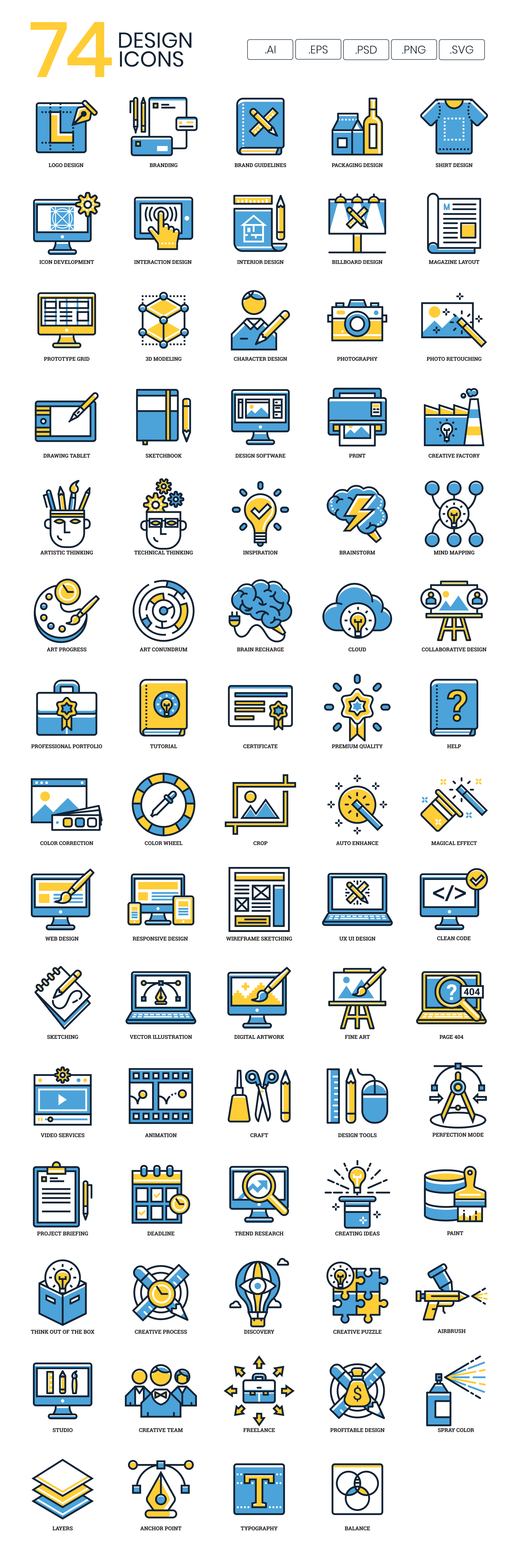 Design Vector Icons Preview Image
