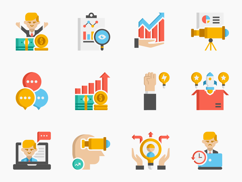 Business Icon Set Featured Image