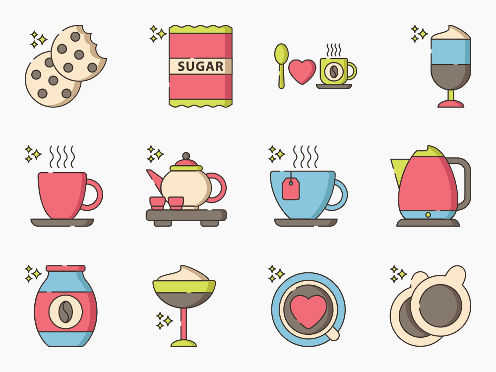 Coffee Icon Set Featured Image