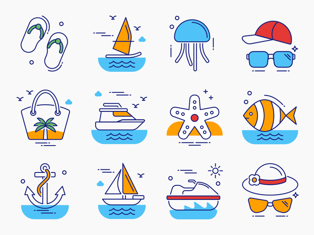 Travel Icon Set Featured Image