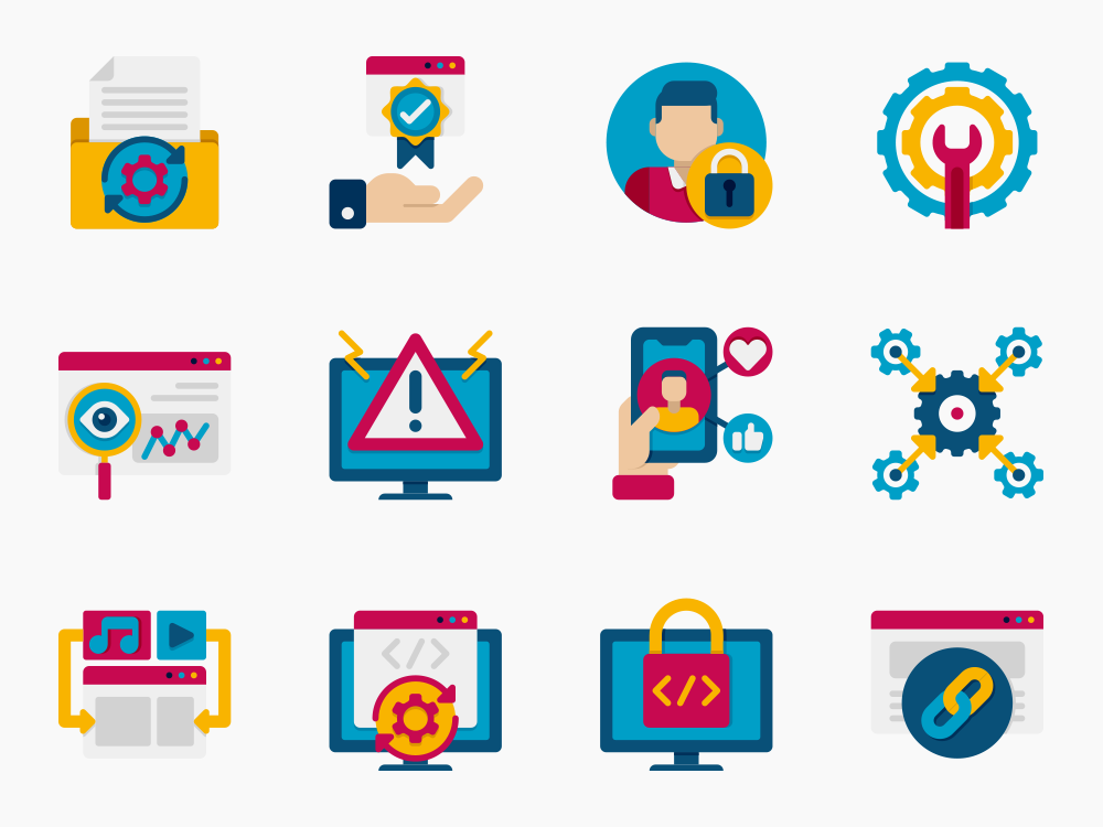 Web Development Icon Set Featured Image