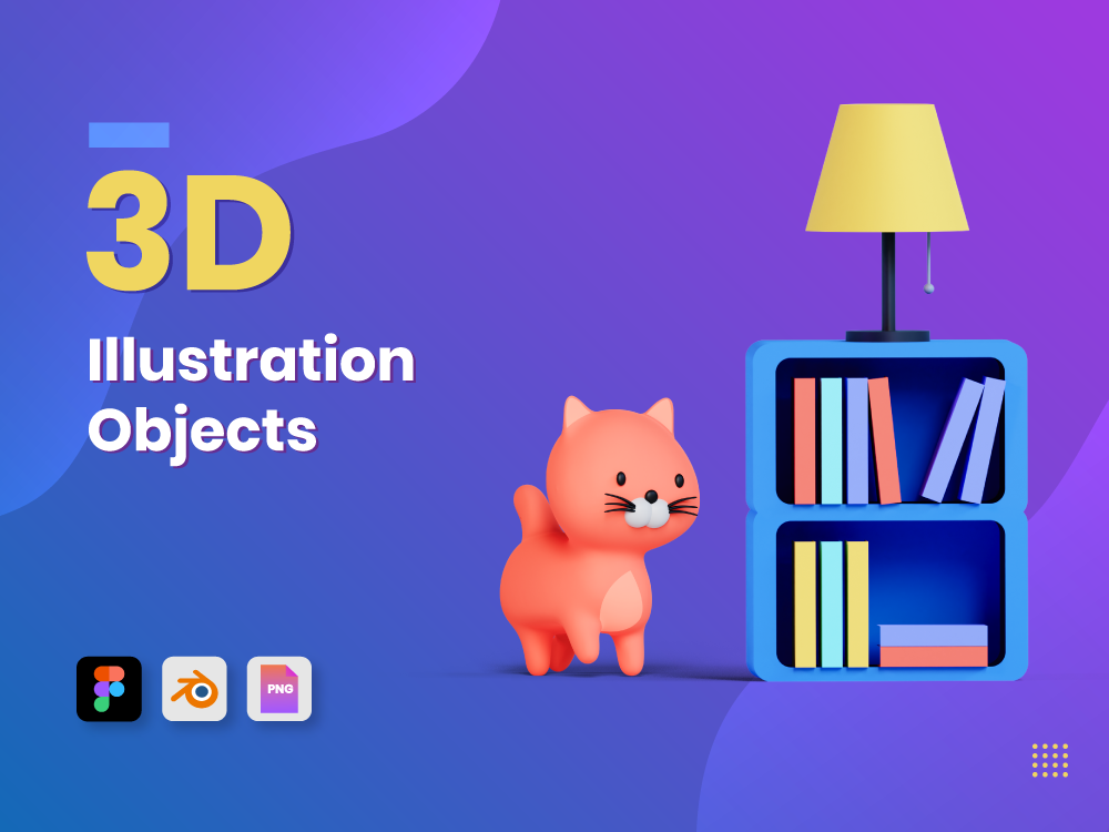 3D Illustration Objects Featured Image