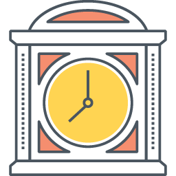 Clock Icon in PNG Format