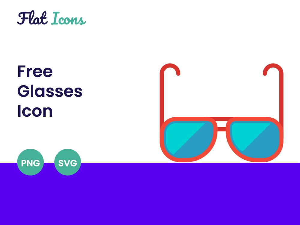 Free Glasses Icon Featured Image