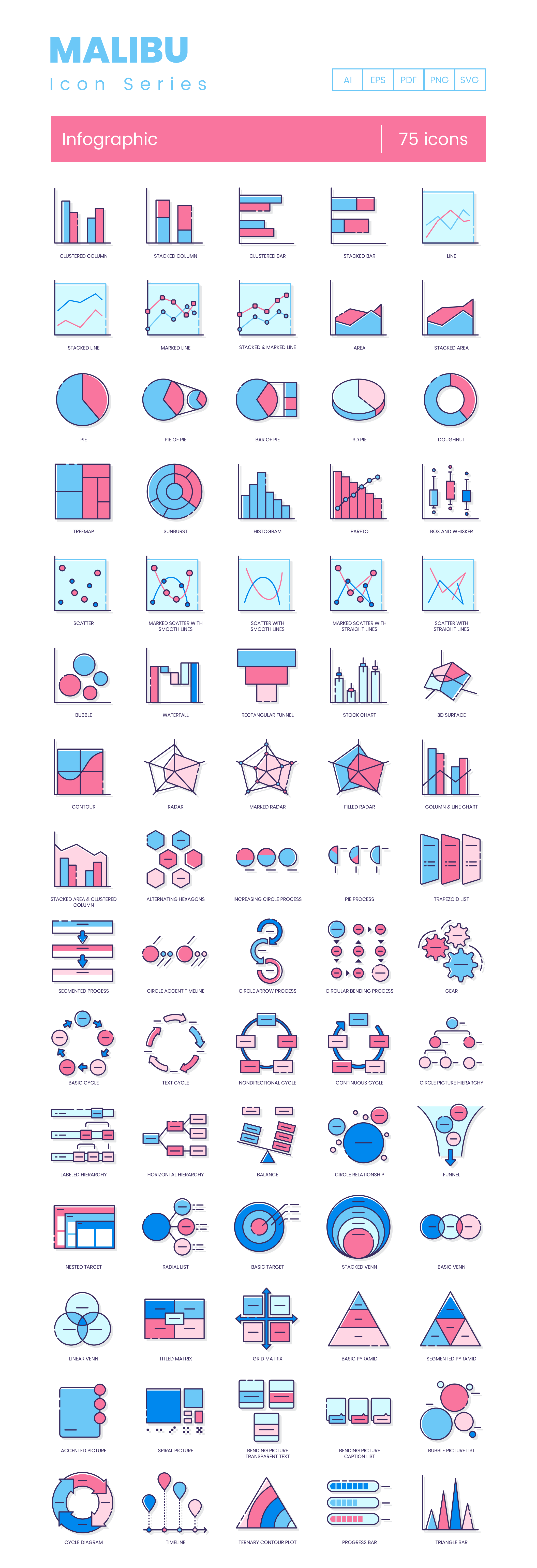 Preview Image for Infographic Icon Set