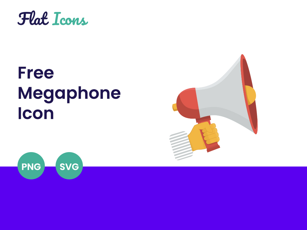 Free Megaphone Icon Featured Image