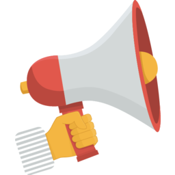 Megaphone Icon in PNG Format