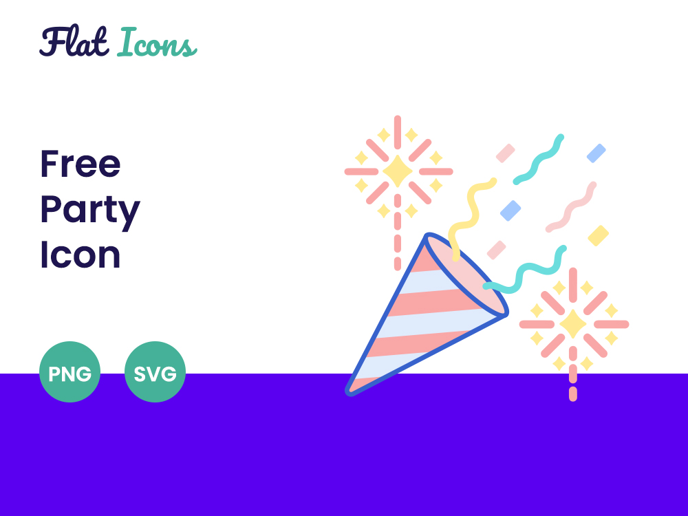 Free Party Icon Featured Image