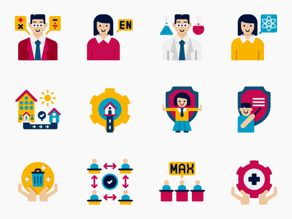 Return to School Icon Set Featured Image