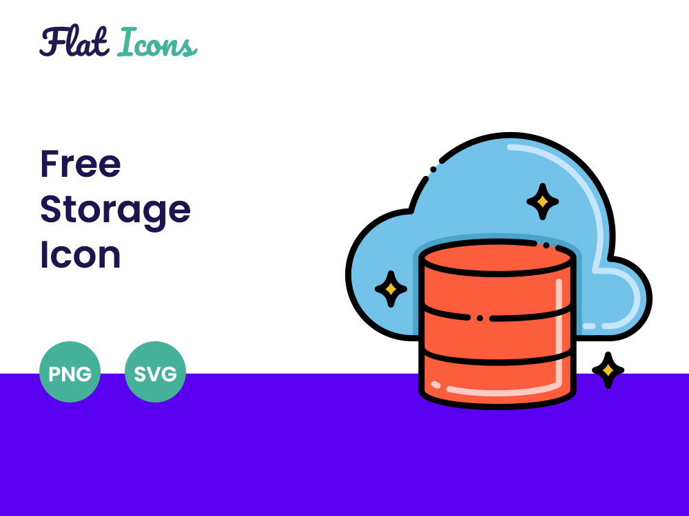 Free Storage Icon Featured Image