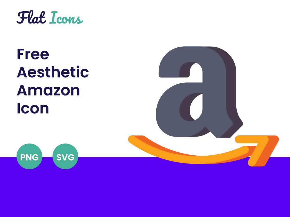 Aesthetic Amazon Icon PNG SVG Free Download