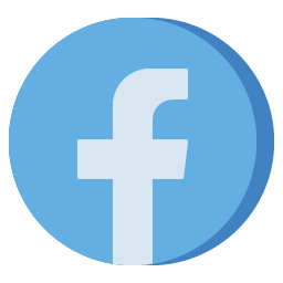 Facebook Icon Aesthetic Free Blue PNG SVG