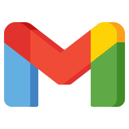 Gmail Icon Aesthetic Colorful Free PNG SVG