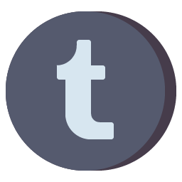 Tumblr Icon Aesthetic Free Gray PNG SVG