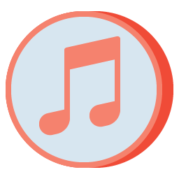 iTunes Icon Aesthetic Free Pink PNG SVG