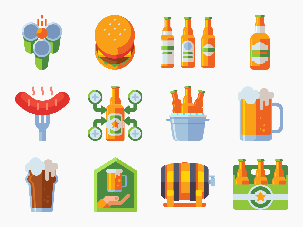 Craft Beer Icon Set Featured Image