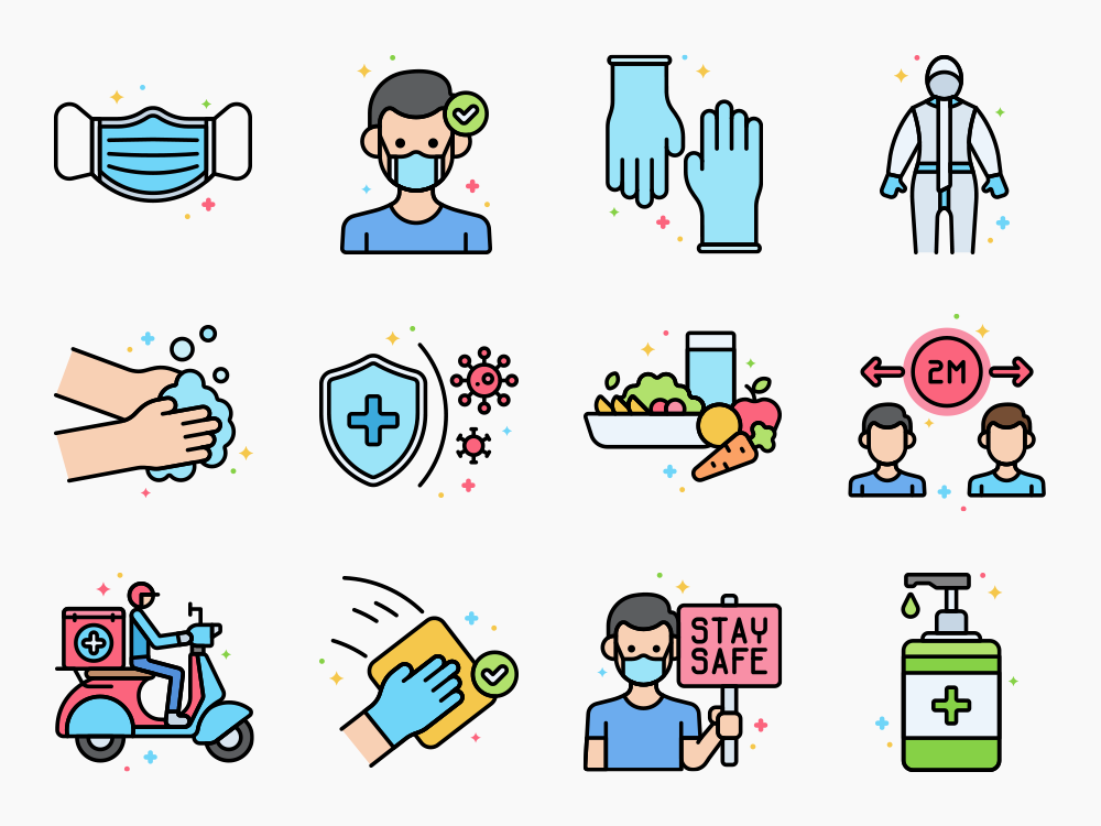 New Normal Icon Set Featured Image